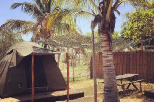Mozambeat Motel tents and camping 1